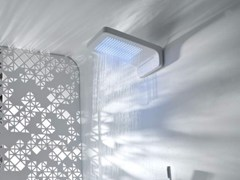 - Wall-mounted rain shower TOUCH | Wall-mounted overhead shower - Systempool
