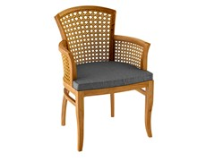 - Deco teak garden chair with armrests TOURNESOL | Garden chair with armrests - ASTELLO