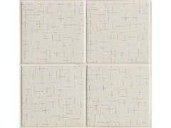 - Porcelain stoneware wall/floor tiles TRATTI CROIX - MUTINA