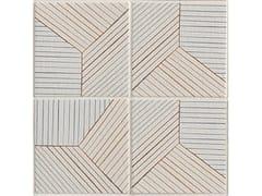 - Porcelain stoneware wall/floor tiles TRATTI TRIPLE - MUTINA
