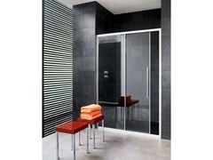 - Niche glass shower cabin with sliding door TRENDY - 5 - INDA®