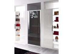 - Niche glass shower cabin with hinged door TRENDY - 6 - INDA®