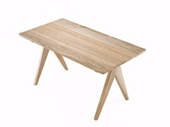 - Rectangular oak table TRIBUTE | Oak table - KARPENTER