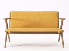 - 2 seater leather sofa TRIBUTE TB17-O - KARPENTER