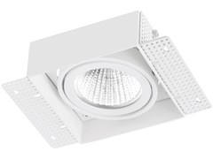 - Faretto a LED quadrato in alluminio da incasso TRIMLESS 1x9W - LED BCN Lighting Solutions
