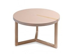 - Round MDF coffee table TRIOLET | Coffee table - Canapés Duvivier