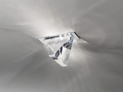 - LED crystal ceiling lamp TRIPLA | Ceiling lamp - Fabbian