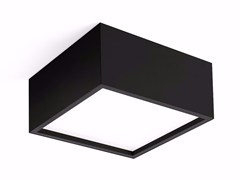 - LED direct light ceiling lamp TRYBECA SURFACE SQUARE - Reggiani Illuminazione
