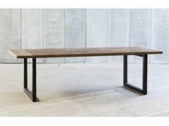 - Teak table TUBE - Heerenhuis