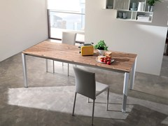 - Extending wooden table TUNNY - Ozzio Italia
