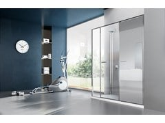 - Shower cabin with storage container TWIN T15 - VISMARAVETRO