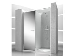 - Niche shower cabin with storage container TWIN T31 - VISMARAVETRO
