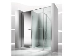 - Niche shower cabin with storage container TWIN T41 - VISMARAVETRO
