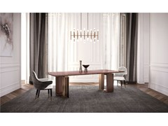 Tavolo rettangolare in legnoTYCOON - CAPITAL COLLECTION IS A BRAND OF ATMOSPHERA