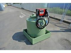 Vasca, cisterna e serbatoio per opera idraulica TANK FUEL 490 -