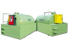 Vasca, cisterna e serbatoio per opera idraulica TANK FUEL BACINO 100% -