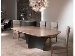 Tavolo ovale in legnoDESYO SYCOMORO | Tavolo - CARPANELLI CONTEMPORARY