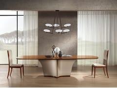 Tavolo ovale in legnoDESYO | Tavolo in legno - CARPANELLI CONTEMPORARY