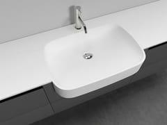 - Design Ceramilux® washbasin countertop TOPLUX-TOPMATT - Antonio Lupi Design®