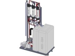 Sistema di recupero delle acque grigie uso irriguo/domesticoImpianto di recupero delle acque grigie - REDI