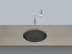 Lavabo sottopiano in acciaio vetrificatoUB.K400 - ALAPE