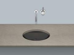 Lavabo sottopiano ovale in acciaio vetrificatoUB.O525 - ALAPE