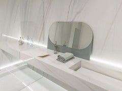- Wall/floor tiles with marble effect ULTRA MARMI | Bianco covelano - ARIOSTEA