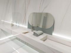- Wall/floor tiles with marble effect ULTRA MARMI | Bianco covelano - ARIOSTEA