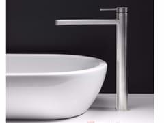 - Miscelatore per lavabo da piano monocomando in acciaio inox UNI/X | Miscelatore per lavabo da piano - CRISTINA Rubinetterie