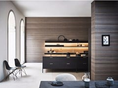 - Lacquered kitchen with island UNIT - COMPOSITION 3 - Cesar Arredamenti