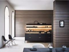- Lacquered kitchen with island UNIT - COMPOSITION 3 - Cesar Arredamenti
