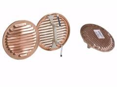 Griglia di ventilazione rotonda in rameGRIGLIA UNIVERSALE IN RAME - DAKOTA GROUP