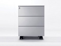 - Metal office drawer unit with casters UNIVERSAL MOBILE 420 - Dieffebi