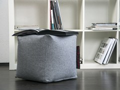 - Upholstered fabric pouf UP! HOME - Pusku pusku