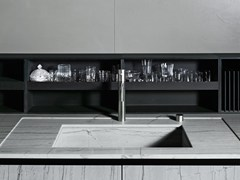 - Fitted Paperstone® Kitchen backsplash UPPER UNITS | Paperstone® Kitchen backsplash - Boffi
