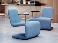 POLTRONA A SBALZO URBAN LOUNGE WITH TABLE - ANNE LINDE
