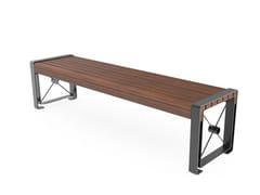 Panchina in acciaio senza schienaleURBIS   Panchina senza schienale - CITY DESIGN