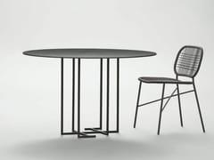 - Tavolo rotondo in metallo URUSHI | Tavolo rotondo - da a