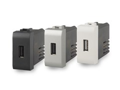 Presa elettrica singola con USBUSB 2.1 - 4 BOX