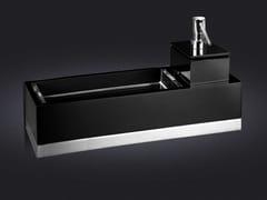 - Resin bathroom wall shelf USE 40 | Bathroom wall shelf - Vallvé Bathroom Boutique