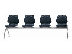 - Polypropylene beam seating Uni 223 - Metalmobil