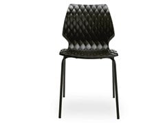 - Stackable polypropylene chair Uni 550 - Metalmobil