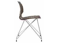 - Polypropylene restaurant chair Uni 553 - Metalmobil