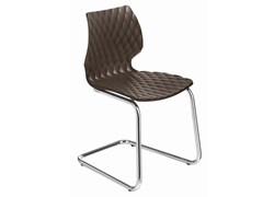 - Cantilever polypropylene chair Uni 564 - Metalmobil
