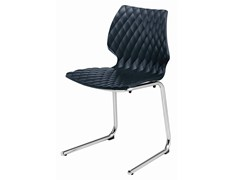- Cantilever polypropylene chair Uni 565 - Metalmobil