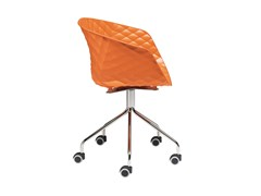 - Swivel easy chair with 5-spoke base with casters Uni-Ka 597-5R - Metalmobil