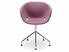 - Swivel upholstered polypropylene easy chair Uni-Ka 597M-5P - Metalmobil