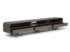 - Low leather TV cabinet V020/A | TV cabinet - Aston Martin by Formitalia Group