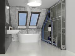 Sistema d'installazione per sanitariSISTEMA MFV - VALSIR
