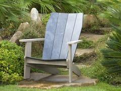 Sedia a sdraio in HPL con braccioliVALTECK | Sedia a sdraio - LES JARDINS